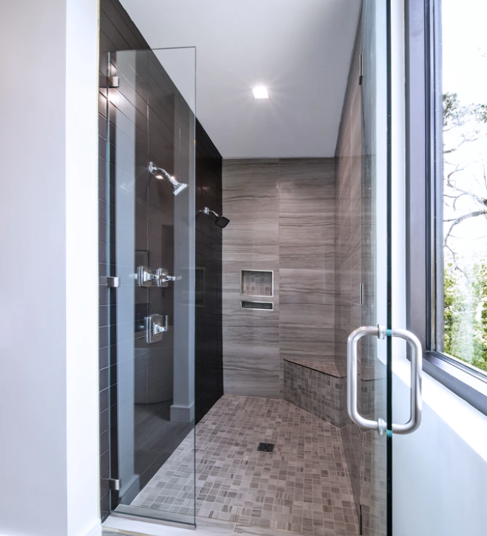 Custom Glass Shower Doors: Framed or Frameless?